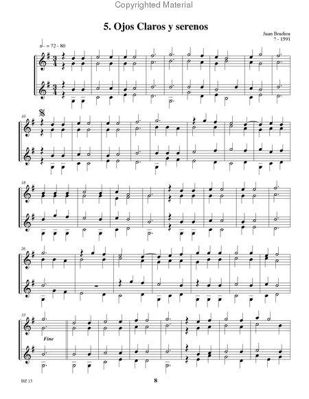 partition musique d'ambiance